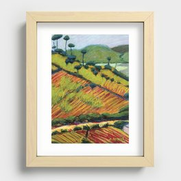Corn and Beans Recessed Framed Print