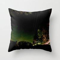 vermont Throw Pillows featuring Vermont by LukeyD