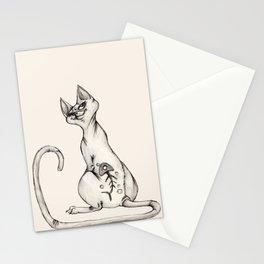 Cats with Tats v.1 Stationery Cards