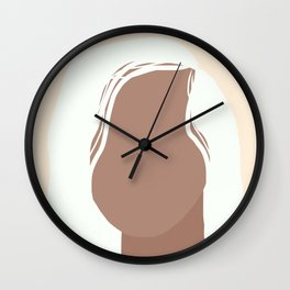 Confidently Quiet Wall Clock