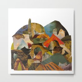 Art History Landscape Study Metal Print