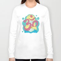 om Long Sleeve T-shirts featuring Om by Monstruonauta