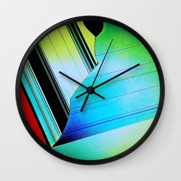 Screen Tear Wall Clock