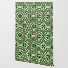 Abstract flower 8c Wallpaper