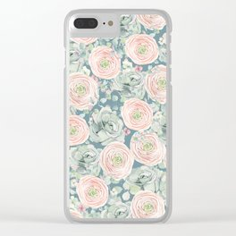 Flowers And Succulents #buyart #decor #society6 Clear iPhone Case