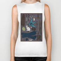 tool Biker Tanks featuring Sabriel tool kit by LauraTolton