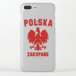 ZAKOPANE Clear iPhone Case