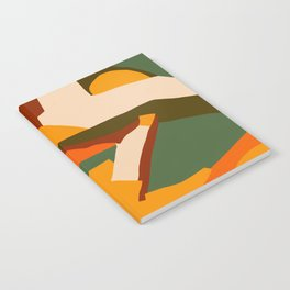 A New Way Of Seeing Abstract Landscape Notebook