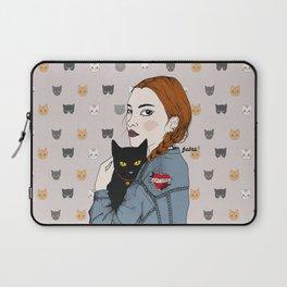 Cat Lover Laptop Sleeve