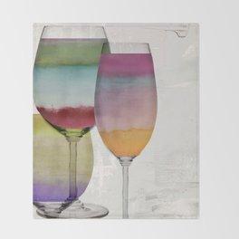 Prism Wine Throw Blanket