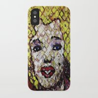 marylin monroe iPhone & iPod Cases featuring MARYLIN MONROE by JANUARY FROST