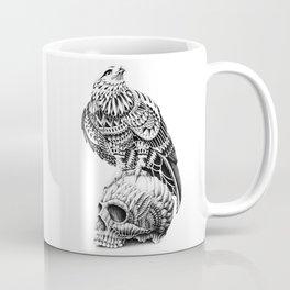 Red-Tail Skull Coffee Mug