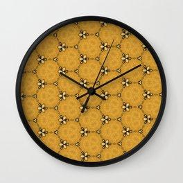 Sand Box Close Close Up Wall Clock