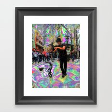 "43/52: ""Tourist in your own city/town/street"" Framed Art Print"
