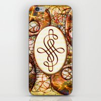 beth hoeckel iPhone & iPod Skins featuring Beth (#TheAccessoriesSeries) by Wayne Edson Bryan