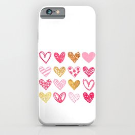 Lovely Heart Design For Valentine Day Gift For Loved One iPhone Case