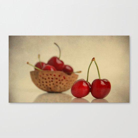 Love Cherries Canvas Print