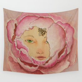 Bloom: Peony Wall Tapestry