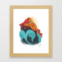 MERMAY 2018 Daydreamer Mermaid Framed Art Print