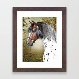 The Indian Pony Framed Art Print