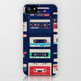Lost Tapes. iPhone Case