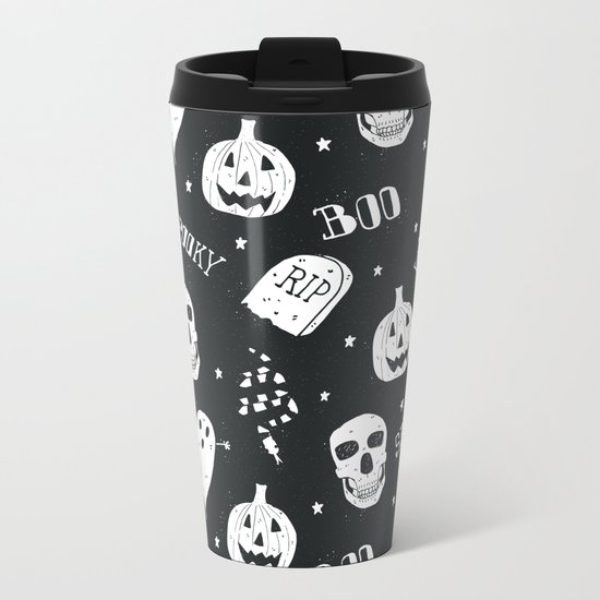 Boo Metal Travel Mug