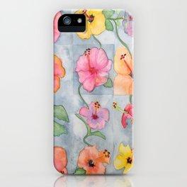 Hawaiian Hybiscus Flowers iPhone Case