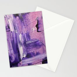 Purple Mess Stationery Cards