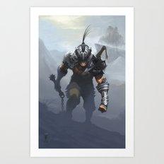 Mercenary  Art Print