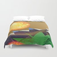 hot Duvet Covers featuring Feeling HOT HOT HOT by Lynsey Ledray