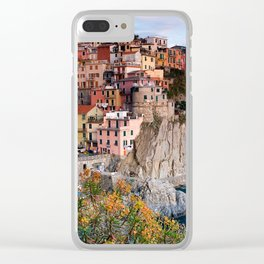 Italy Village Clear iPhone Case