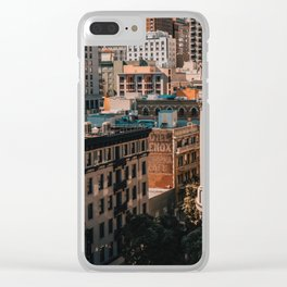 San Francisco architecture Clear iPhone Case