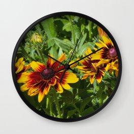 Denver Daisy Wall Clock
