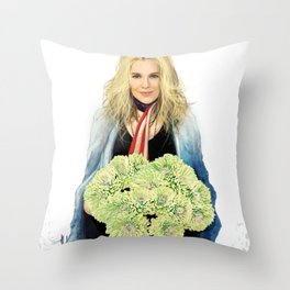 Another misty day Throw Pillow