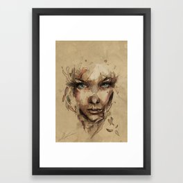 [Crystal] Framed Art Print