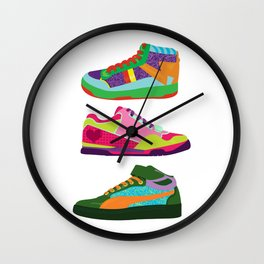 My Kicks Wall Clock
