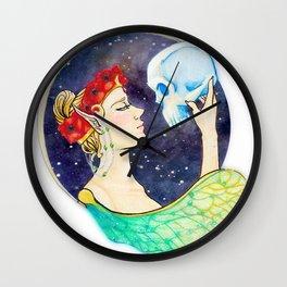 Plucked From Slumber Wall Clock