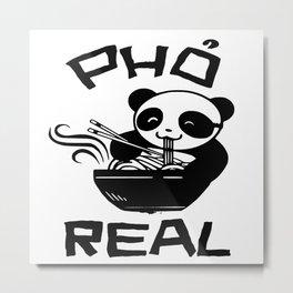 pho panda real Metal Print