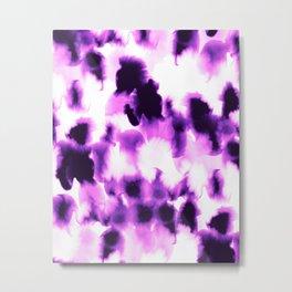 Kindred Spirits Purple Metal Print