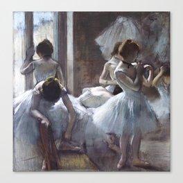 Dancers by Edgar Degas Canvas Print