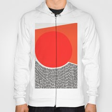 Sunshine And Rain Abstract Hoody