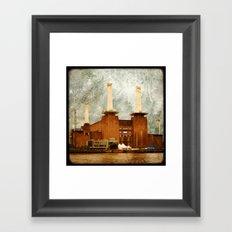 Battersea Power Station - London Framed Art Print