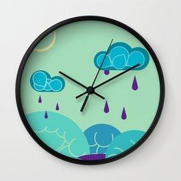 Nighttime Melodies Wall Clock