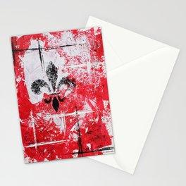 Fleur Lines [V5] Stationery Cards