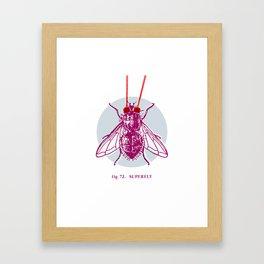fig. 72 superfly Framed Art Print