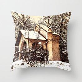 Concept Baden-Wurttemberg :Ölbergkapelle Laupheim Throw Pillow