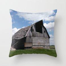 Abandoned Barn #7 Throw Pillow