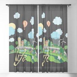 Eco Life Sheer Curtain
