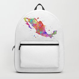 Mexico Map Backpack