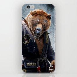 Jiu Jitsu Grizzly iPhone Skin